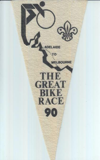 Great Bike Race Flag